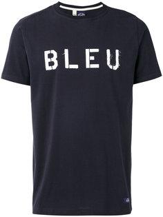 bleu print T-shirt Bleu De Paname