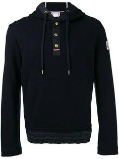 piquet hoodie Moncler Gamme Bleu