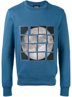 stick-on moon patch sweatshirt Christopher Raeburn