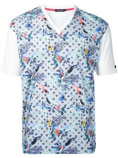 футболка с цветочным принтом Loveless