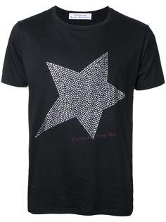 футболка с принтом звезды из заклепок Education From Youngmachines