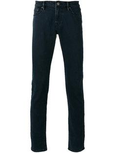 прямые джинсы с фирменной нашивкой Burberry