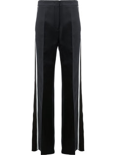 side stripe flared trousers Fendi