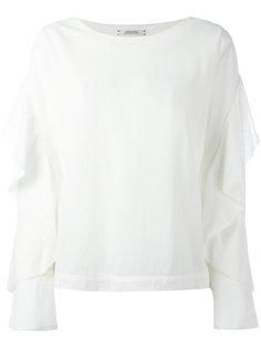 блузка с длинными рукавами и оборками Dorothee Schumacher
