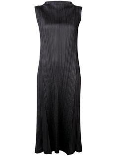 платье с высоким горлом Pleats Please By Issey Miyake