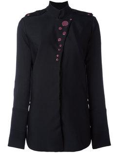 рубашка с пуговичной отделкой Ellery