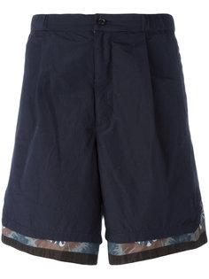 шорты с отделкой Kolor