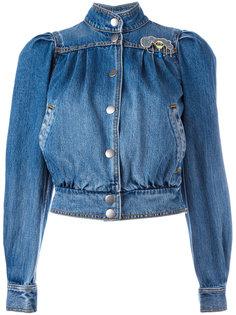 куртка-бомбер в стиле 80-х Marc Jacobs