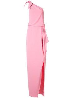 one shoulder dress  Halston Heritage