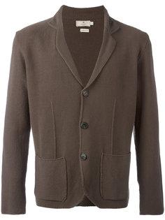 вязаный пиджак с накладными карманами Hackett