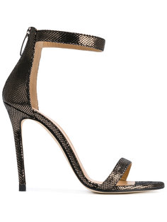 metallic ankle strap sandals Marc Ellis