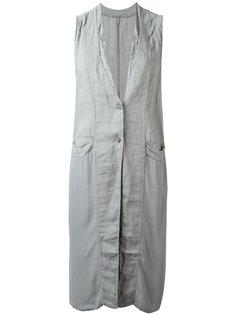 long sleeveless jacket  Transit