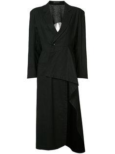 куртка с бахромой сзади Yohji Yamamoto