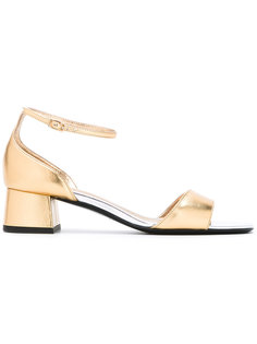 block heel sandals  Michel Vivien