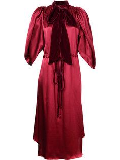 платье с завязками на шее Romance Was Born