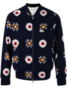 куртка-бомбер с размытым принтом  Universal Works