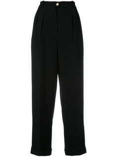 straight leg trousers Chanel Vintage
