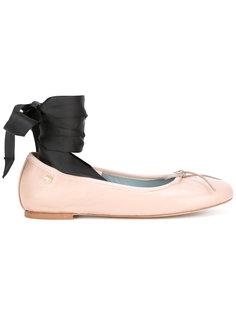балетки на завязках-лентах Chiara Ferragni