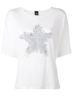 футболка с заплаткой в форме звезды Lorena Antoniazzi