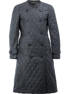 стеганое двубортное пальто Comme Des Garçons Homme Plus