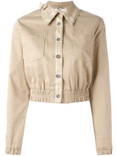 куртка без воротника Prada Vintage