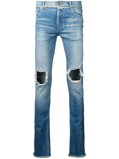 джинсы с рваными коленями Christian Dada