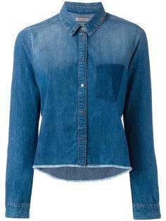 джинсовая рубашка с необработанными краями Calvin Klein Jeans