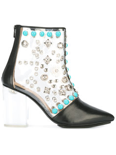 clear vinyl ankle boots Toga Pulla