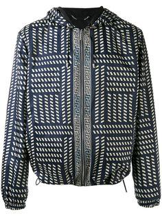 куртка с капюшоном  и принтом Tribal Versace