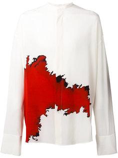 рубашка с контрастным принтом Haider Ackermann