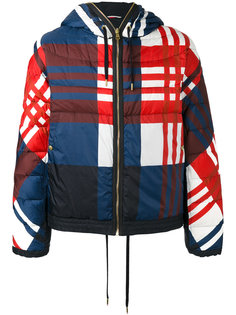 checkered down jacket  Moncler Gamme Bleu