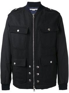 куртка-бомбер  с карманами спереди Stella McCartney