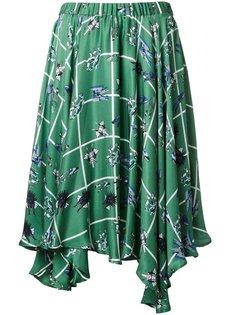 юбка с принтом робота  Julien David