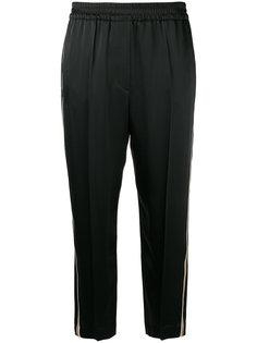 укороченные брюки с полосками по бокам Brunello Cucinelli