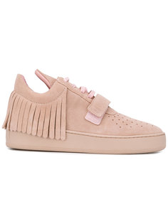fringed lace-up sneakers Filling Pieces