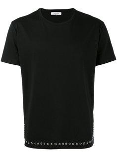 футболка с люверсами Valentino