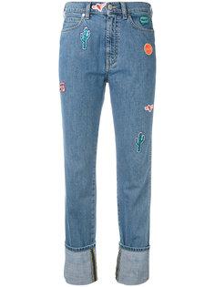 прямые джинсы с вышивкой Ps By Paul Smith