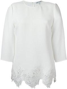 scalloped lace hem blouse Elizabeth And James