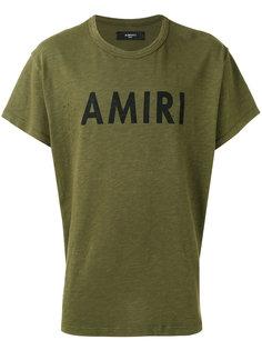 logo print T-shirt Amiri