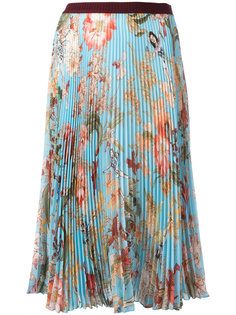 floral print pleated skirt  IM Isola Marras