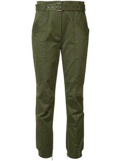 брюки с поясом Grey Jason Wu