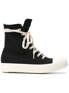 lace-up hi-top sneakers Rick Owens DRKSHDW