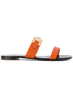 сандалии с двумя ремешками Giuseppe Zanotti Design