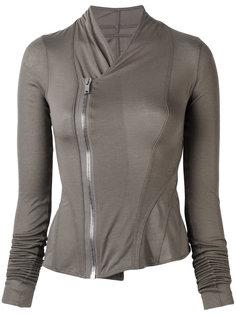 куртка с асимметричной застежкой Rick Owens Lilies