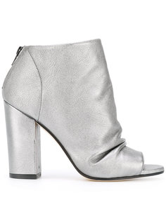 metallic boots Marc Ellis