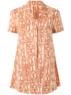 printed a-line shape shirt Romeo Gigli Vintage