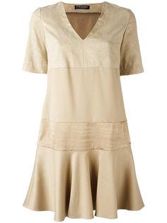 V-neck panel dress  Twin-Set