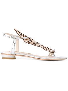 сандалии с отделкой в виде крыльев Sophia Webster
