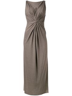 платье без рукавов с присборенной талией Rick Owens Lilies
