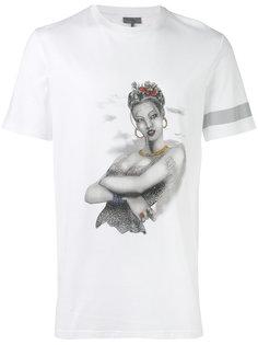 футболка с принтом женщины Lanvin